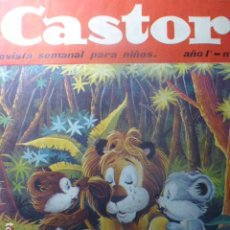 Tebeos: COMIC CASTOR REVISTA SEMANAL PARA NIÑOS Nº 2 1964 DE MAGA. Lote 263668115