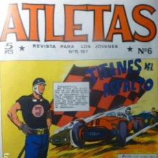 Tebeos: COMIC ATLETAS Nº 6 DE MAGA. Lote 263668530