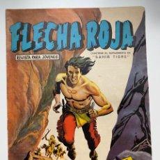 Tebeos: FLECHA ROJA. Nº 20. LEYENDAS GRÁFICAS MAGA. REVISTA PARA LOS JOVENES. EDITORIAL MAGA.. Lote 263758780