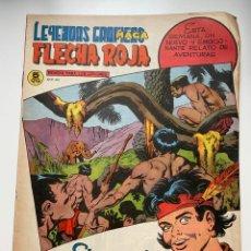 Tebeos: FLECHA ROJA. Nº 62. LEYENDAS GRÁFICAS MAGA. REVISTA PARA LOS JOVENES Nº R.50. EDITORIAL MAGA.. Lote 263759380