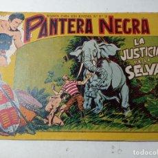 Tebeos: ORIGINAL NO COPIA PANTERA NEGRA LA JUSTICIA DE LA SELVA NÚMERO 31 MAGA AÑOS 50 60. Lote 263910000