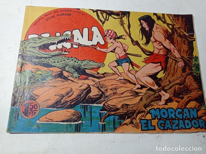 ORIGINAL BENGALA MORGAN EL CAZADOR NÚMERO 15 EDITORIAL MAGA AÑOS 60 (Tebeos y Comics - Maga - Bengala)