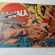 Tebeos: ORIGINAL BENGALA MORGAN EL CAZADOR NÚMERO 15 EDITORIAL MAGA AÑOS 60. Lote 263924145