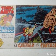 Tebeos: ORIGINAL TONY Y ANITA LOS ASES DEL CIRCO EL CASTILLO DE LOS FANTASMAS NÚMERO 4 AÑO 1960. Lote 263925605