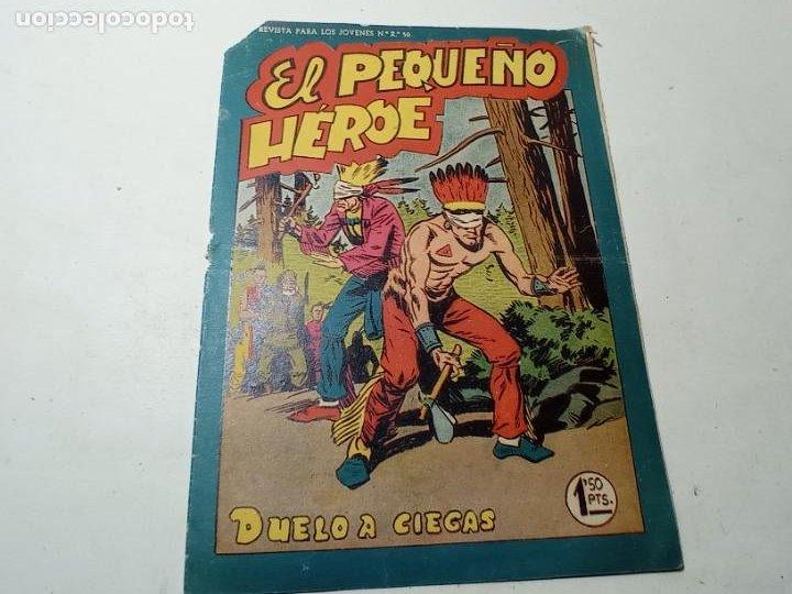 ORIGINAL NO COPIA CALLE EL PEQUEÑO HÉROE DUELO A CIEGAS NÚMERO 50 EDITORIAL MAGA (Tebeos y Comics - Maga - Pequeño Héroe)