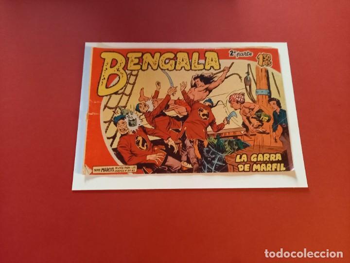 BENGALA Nº 3 ORIGINAL-2ª PARTE EDITORIAL MAGA (Tebeos y Comics - Maga - Bengala)