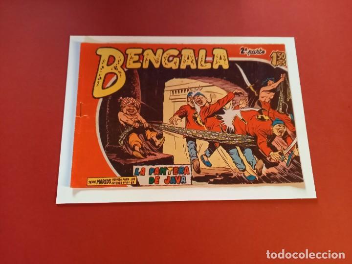 BENGALA Nº 6 ORIGINAL-2ª PARTE EDITORIAL MAGA (Tebeos y Comics - Maga - Bengala)