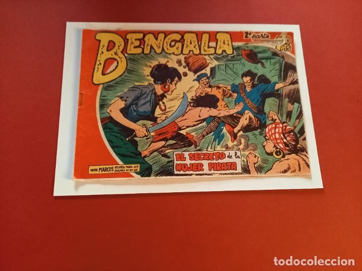 BENGALA Nº 7 ORIGINAL-2ª PARTE EDITORIAL MAGA (Tebeos y Comics - Maga - Bengala)