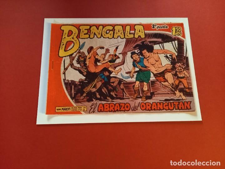 BENGALA Nº 8 ORIGINAL-2ª PARTE EDITORIAL MAGA (Tebeos y Comics - Maga - Bengala)