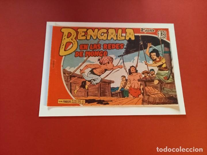 BENGALA Nº 9 ORIGINAL-2ª PARTE EDITORIAL MAGA (Tebeos y Comics - Maga - Bengala)