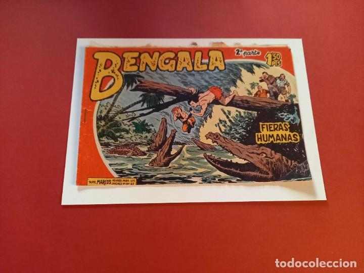 BENGALA Nº 12 ORIGINAL-2ª PARTE EDITORIAL MAGA (Tebeos y Comics - Maga - Bengala)