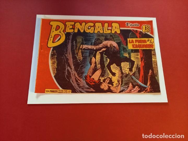 BENGALA Nº 16 ORIGINAL-2ª PARTE EDITORIAL MAGA (Tebeos y Comics - Maga - Bengala)