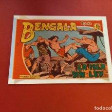Tebeos: BENGALA Nº 18 ORIGINAL-2ª PARTE EDITORIAL MAGA. Lote 264128545
