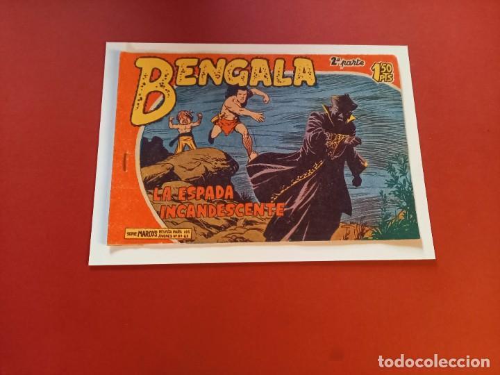 BENGALA Nº 23 ORIGINAL-2ª PARTE EDITORIAL MAGA (Tebeos y Comics - Maga - Bengala)