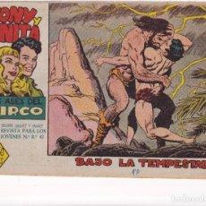Tebeos: TONY Y ANITA (2ª PARTE) : NUMERO 20 BAJO LA TEMPESTAD , EDITORIAL MAGA. Lote 264576554