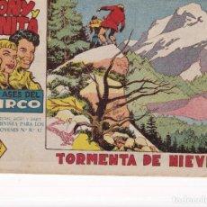 Tebeos: TONY Y ANITA (2ª PARTE) : NUMERO 14 TORMENTA DE NIEVE , EDITORIAL MAGA. Lote 264577009