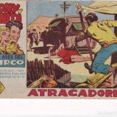 Tebeos: TONY Y ANITA (2ª PARTE) : NUMERO 13 ATRACADORES , EDITORIAL MAGA. Lote 264591309