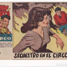 Tebeos: TONY Y ANITA (2ª PARTE) : NUMERO 7 SECUESTRO EN EL CIRCO , EDITORIAL MAGA. Lote 264654814