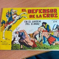 Giornalini: EL DEFENSOR DE LA CRUZ Nº 19 EN EL HAREM DEL EMIR (ORIGINAL MAGA 5 PTAS) (COIB147). Lote 265492379