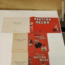 Livros de Banda Desenhada: PEQUEÑO PANTERA NEGRA / CONJUNTO DE TRES TAPAS / COMPLETO / MAGA ORIGINAL. Lote 265960843