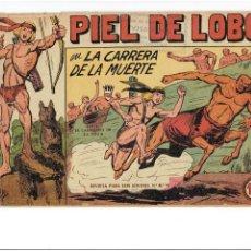 Tebeos: * PIEL DE LOBO * ORIGINAL Nº 6, 56, * EDI. MAGA 1959 * MANUEL GAGO *. Lote 266328823