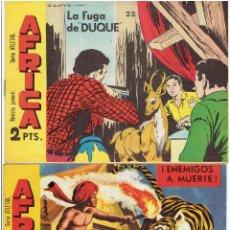 Tebeos: ARCHIVO * SERIE ATLETAS * AFRICA Nº 11, 23, * MAGA 1964 *. Lote 267599889