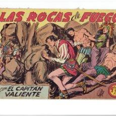 Tebeos: ARCHIVO * EL CAPITAN VALIENTE * Nº 8, EDITA MAGA 1957 *. Lote 267651399