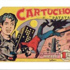 Tebeos: ARCHIVO * CARTUCHO Y PATATA * Nº 12 * EDITA MAGA 1956 *. Lote 267652829