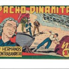 Tebeos: ARCHIVO * PACHO DINAMITA * Nº 92. ORIGINAL * EDITORIAL MAGA 1951 * 1,25 PTS. Lote 267654119