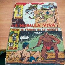 Tebeos: RAYO DE LA SELVA LOTE Nº 28 Y 81 (ORIGINAL MAGA) (COIB61). Lote 267656499