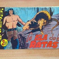 Tebeos: HACHA Y ESPADA Nº 21 LA ISLA DE LAS RATAS (ORIGINAL MAGA) (COIB61). Lote 267711404