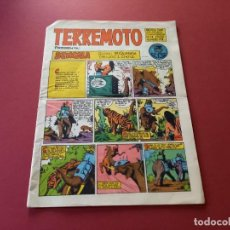 Tebeos: TERREMOTO Nº 28 -ORIGINAL -MAGA. Lote 267784064