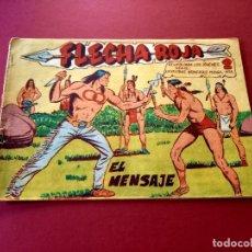 Tebeos: FLECHA ROJA Nº 14 -ORIGINAL -MAGA. Lote 267787739