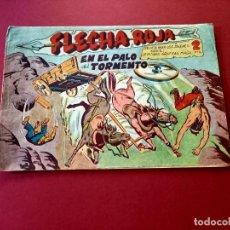 Tebeos: FLECHA ROJA Nº 18 -ORIGINAL -MAGA. Lote 267787829