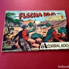 Tebeos: FLECHA ROJA Nº 54 -ORIGINAL -MAGA. Lote 267788364