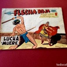 Tebeos: FLECHA ROJA Nº 50 -ORIGINAL -MAGA. Lote 267788634