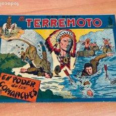 Tebeos: DAN BARRY EL TERREMOTO Nº 3 EL PODER DE LOS COMANCHES (ORIGINAL MAGA ) (COIB61). Lote 267789529