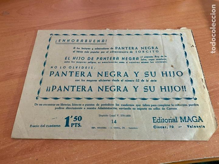 Tebeos: MARCOS Nº 14 EN CARA A CARA (ORIGINAL MAGA) (COIB61) - Foto 2 - 268147629