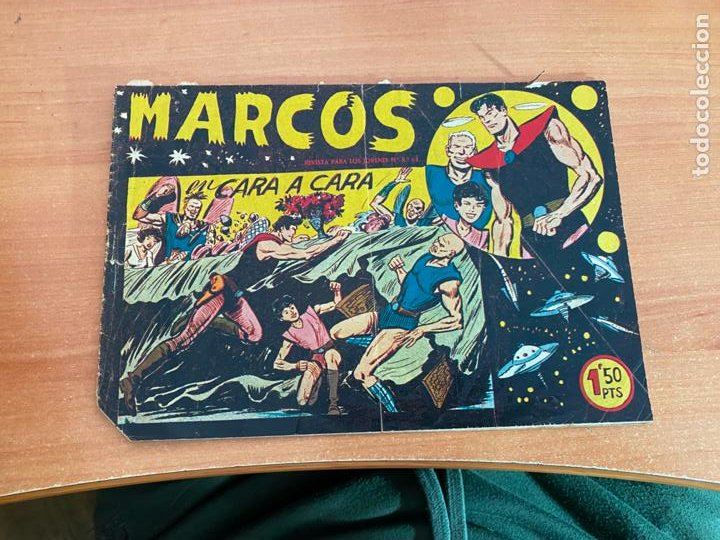 MARCOS Nº 14 EN CARA A CARA (ORIGINAL MAGA) (COIB61) (Tebeos y Comics - Maga - Otros)