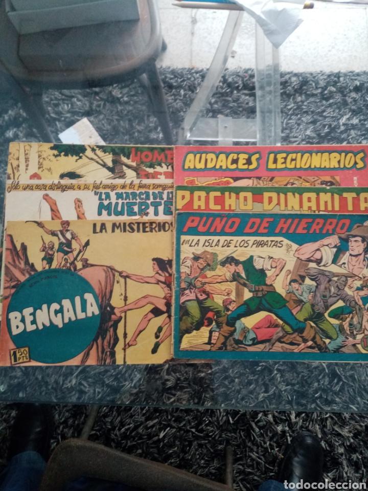 6 TEBEOS DE MAGA ORIGINALES (Tebeos y Comics - Maga - Bengala)