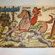 Tebeos: APACHE - 2ª PARTE - Nº 35 - EL TRAMPERO - EDITORIAL MAGA - ORIGINAL DE 1957. Lote 268444369
