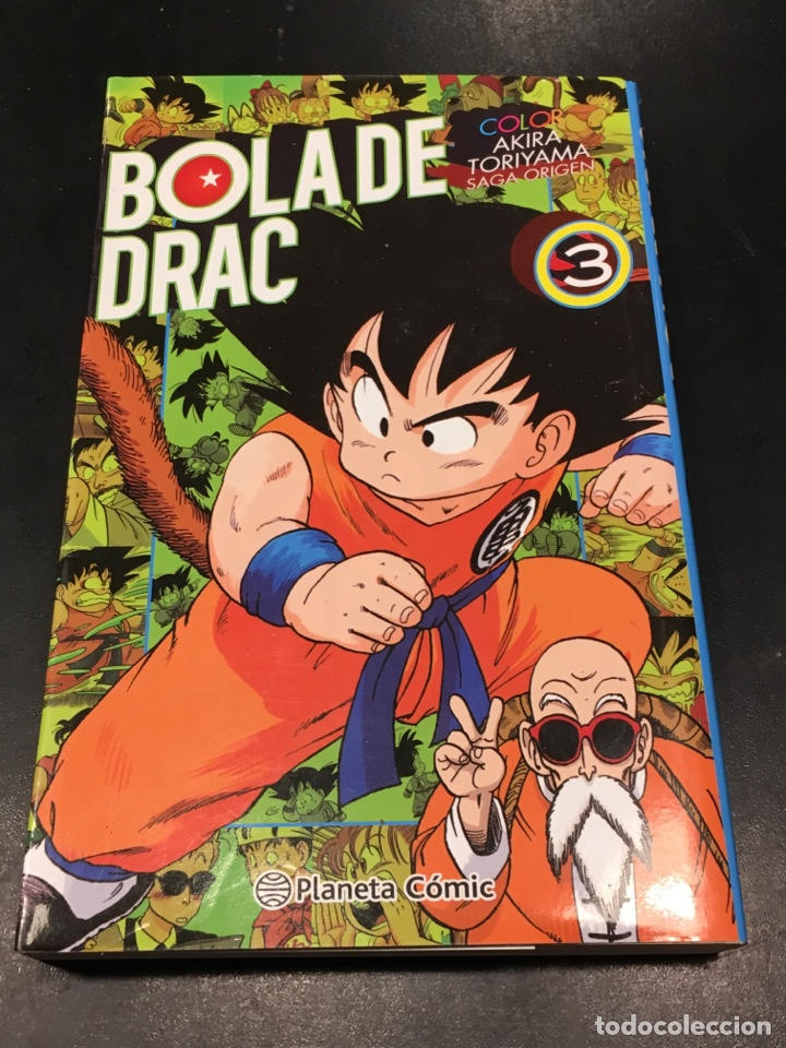 BOLA DE DRAC - COLOR - AKIRA TORILLAMA - 3 - SAGA ORIGEN (Tebeos y Comics - Maga - Otros)
