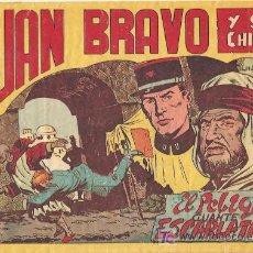 Tebeos: JUAN BRAVO Y SUS CHICOS ORIGINAL 31 BASTANTE NUEVO , EDI. MAGA 1953, POR JOSÉ ORTIZ. Lote 269141828