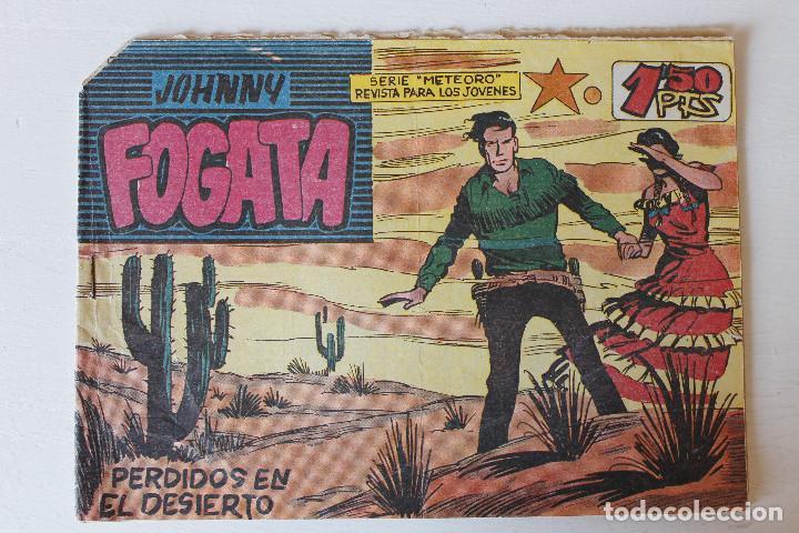 JOHNNY FOGATA, EDITORIAL MAGA 1960, ÚMEROS 17,35, 70,77, 79 Y 80 (Tebeos y Comics - Maga - Otros)