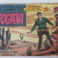 Tebeos: JOHNNY FOGATA, EDITORIAL MAGA 1960, ÚMEROS 17,35, 70,77, 79 Y 80. Lote 269200023