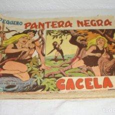 Tebeos: PANTERA NEGRA. 1956. EDITORIAL MAGA. 47 EJEMPLARES (DEL Nº 125 AL 172 INCLUIDOS). Lote 269803643