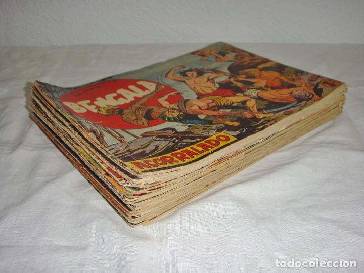 Tebeos: Bengala. 1959. Editorial Maga. Serie Marcos. Del nº 2 al 54 incluidos - Foto 2 - 269805573
