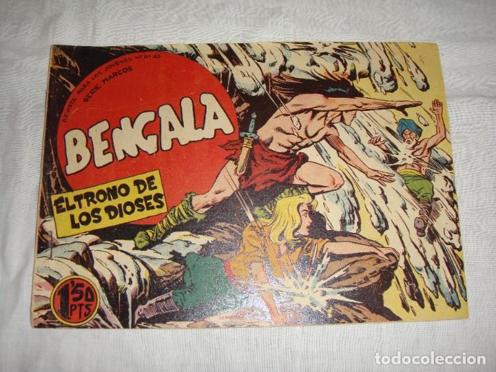 Tebeos: Bengala. 1959. Editorial Maga. Serie Marcos. Del nº 2 al 54 incluidos - Foto 3 - 269805573