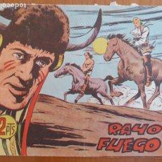 Tebeos: HACHA Y ESPADA Nº 47. ORIGINAL. RAYO DE FUEGO. EDITA MAGA. Lote 270635463