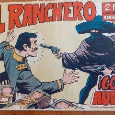Tebeos: EL RANCHERO Nº 4. ORIGINAL.GOLPE AUDAZ . EDITA MAGA. Lote 270635738